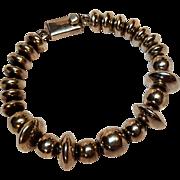 Taxco sterling silver bead bracelet TJ-39
