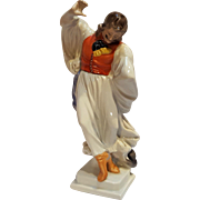 Herend porcelain figurine folk gypsy dancer 5497
