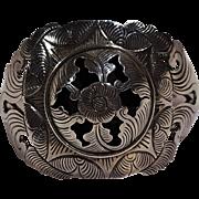 Suarti Bali sterling silver cuff bracelet shadow box