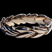 Milor sterling silver stampado bracelet Italy