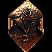 Morley Crimi copper pin calla lily