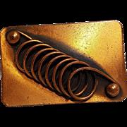 Renoir copper pin spiral coil