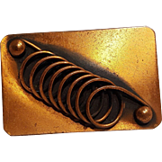 Renoir copper pin spiral coil
