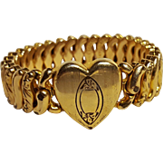 Childs expansion sweetheart bracelet American Queen Pitman Keeler