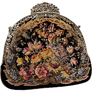 Maria Stransky Vienna petit point evening bag in original box