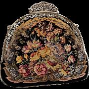 Maria Stransky Vienna petit point evening bag in original box