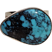 Anthony Kee Southwest sterling silver turquoise ring
