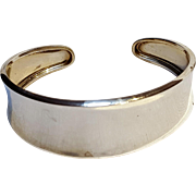 Carolyn Pollack sterling silver cuff bracelet