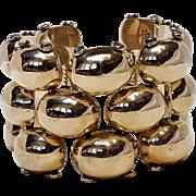 Taxco sterling bracelet TA-73 heavy wide