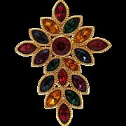 Napier Royalton Byzantine cross pin