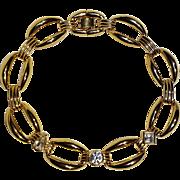 Givenchy chunky choker necklace geometric stones