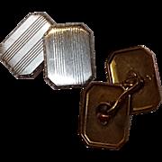 14K Gold Larter cufflinks Edwardian