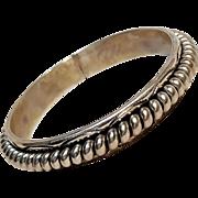 Verna Franklin Tahe sterling silver bangle bracelet