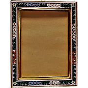Italian Mosaic easel picture frame
