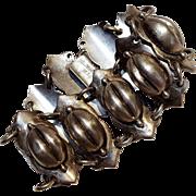 Casa Prieto sterling silver Mexico bean bracelet