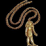 MMA Horus pendant Egyptian Revival 1976