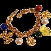 Napier Scarborough charm bracelet