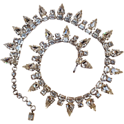 Schoffel Austria rhinestone necklace