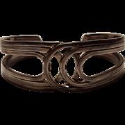 Taxco sterling silver cuff bracelet TM-01