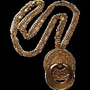 Monet door knocker pendant