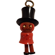 Kobe pop eye celluloid charm top hat and swinging legs Japanese