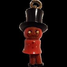 Kobe pop eye celluloid charm top hat and swinging legs Japanese