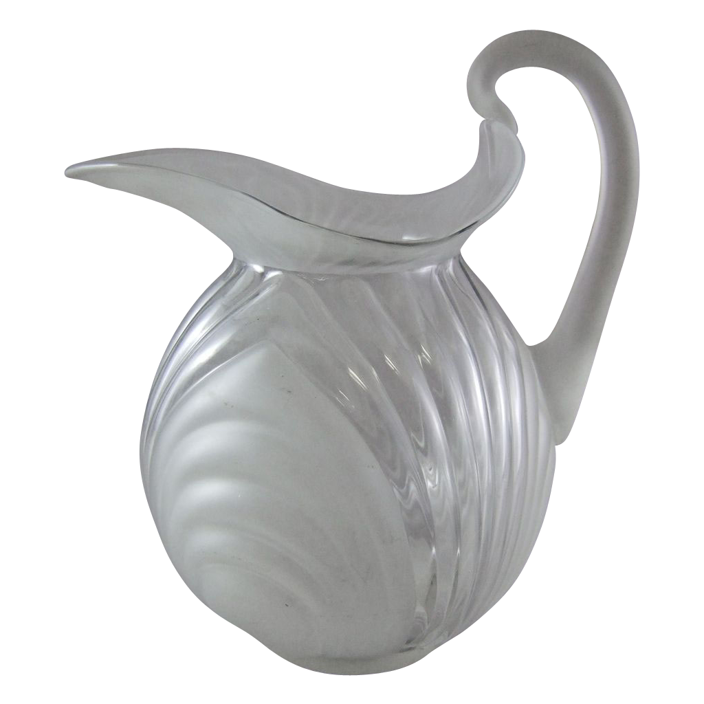Cambridge Caprice Alpine Doulton Jug #178 Glass Pitcher