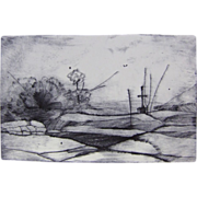 Radu-Anton Maier Original Engraving Marterl