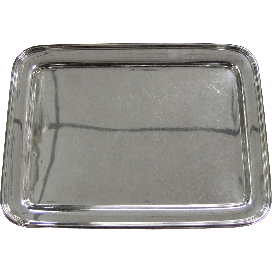 tiffany co art deco silver soldered tray sold on ruby lane. Black Bedroom Furniture Sets. Home Design Ideas