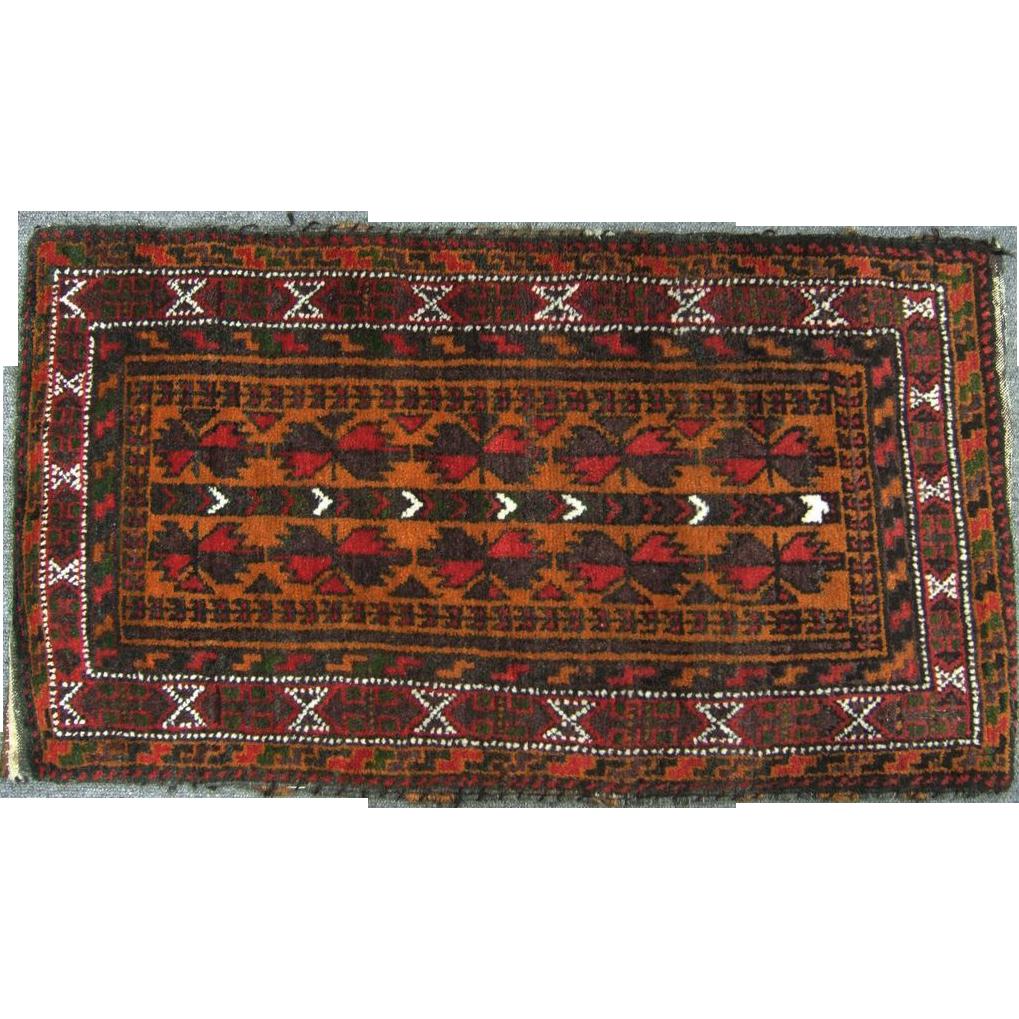 Iranian Hand Woven Persian Wool tribal Prayer Rug from ...