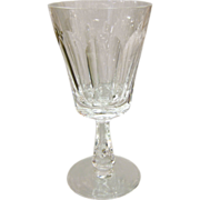Waterford Glencree Irish Crystal Water Goblet 6-7/8 Circa 1960