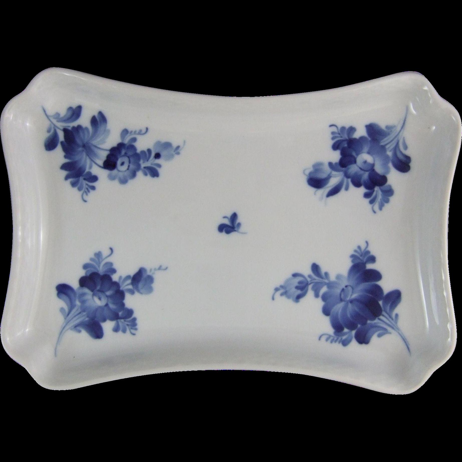 Royal Copenhagen Blue Flower Rectangular Tray 1 106 364