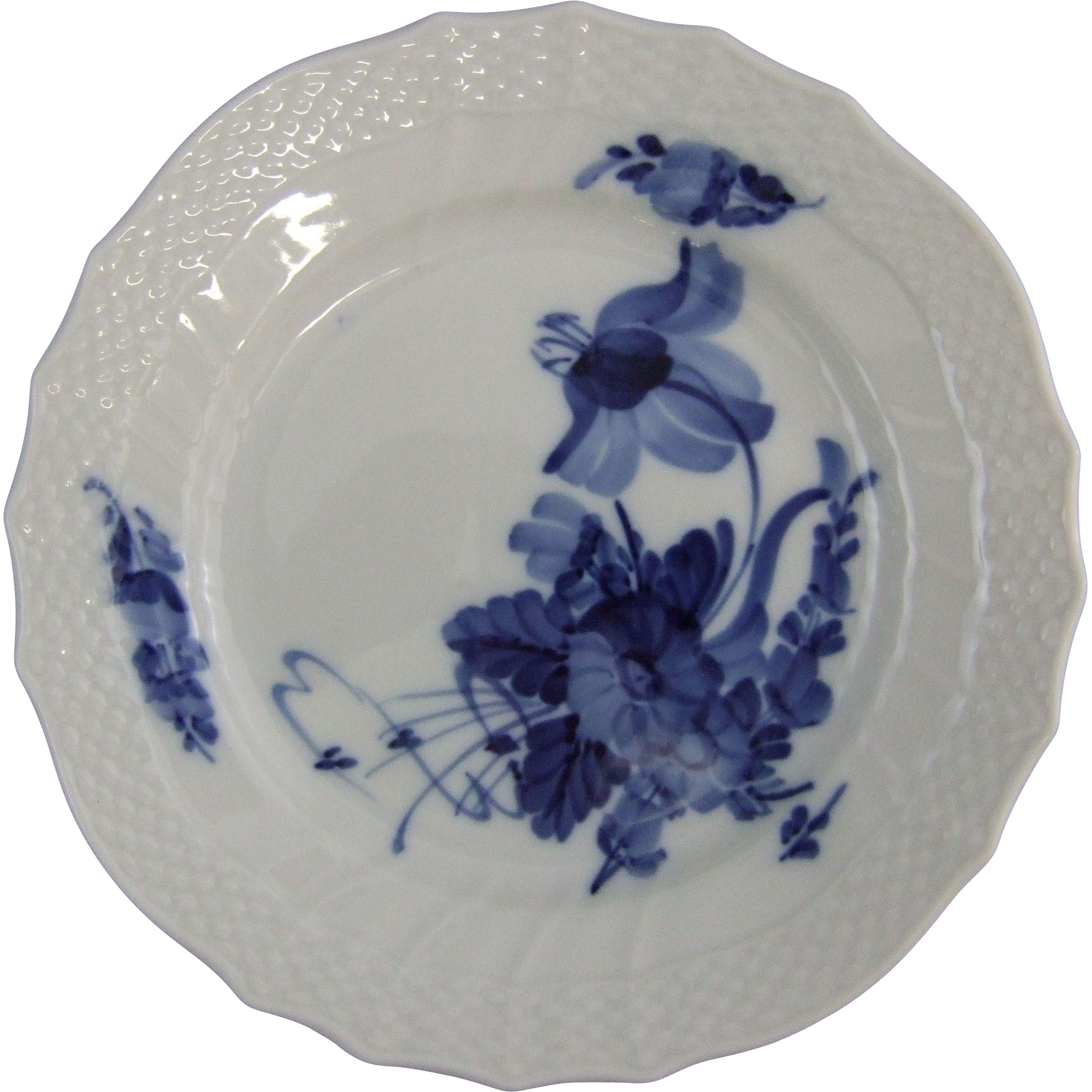 "Royal Copenhagen Blue Flower Curved Blaue Blume 6.25"" Plate"