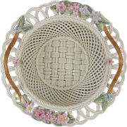 Belleek Millennium 2000 Basket - Free Domestic USPS Priority Insured Shipping
