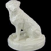 Belleek Collectors Society The Irish Wolfhound 1988