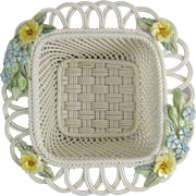 Belleek Primrose Basket 3015