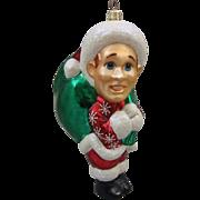 Christopher Radko Retired White Christmas Ornament Bing Crosby