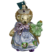 Christopher Radko Ornament Princess Muffy & The Polliwog