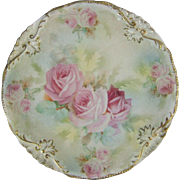 Royal Bayreuth Porcelain Rose Tapestry Plate
