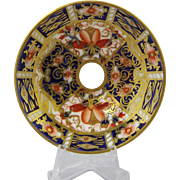 Antique Royal Crown Derby Imari Miniature Cabinet Plate C1905