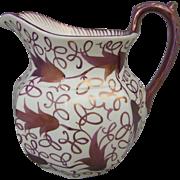 Wedgwood Copper Luster Ceramic Milk Jug