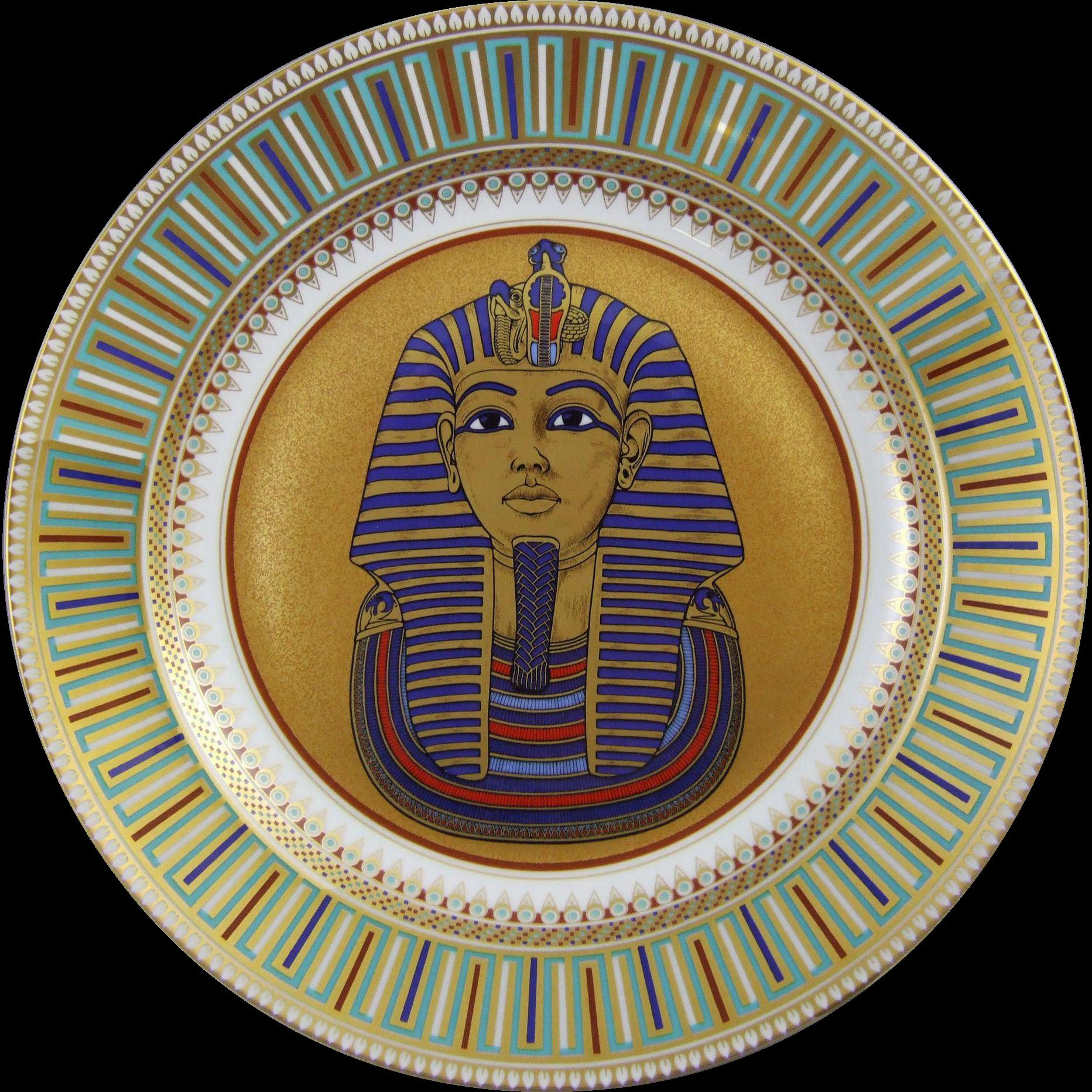 Kaiser Porcelain King Tut-Ankh-Amun Wall Charger