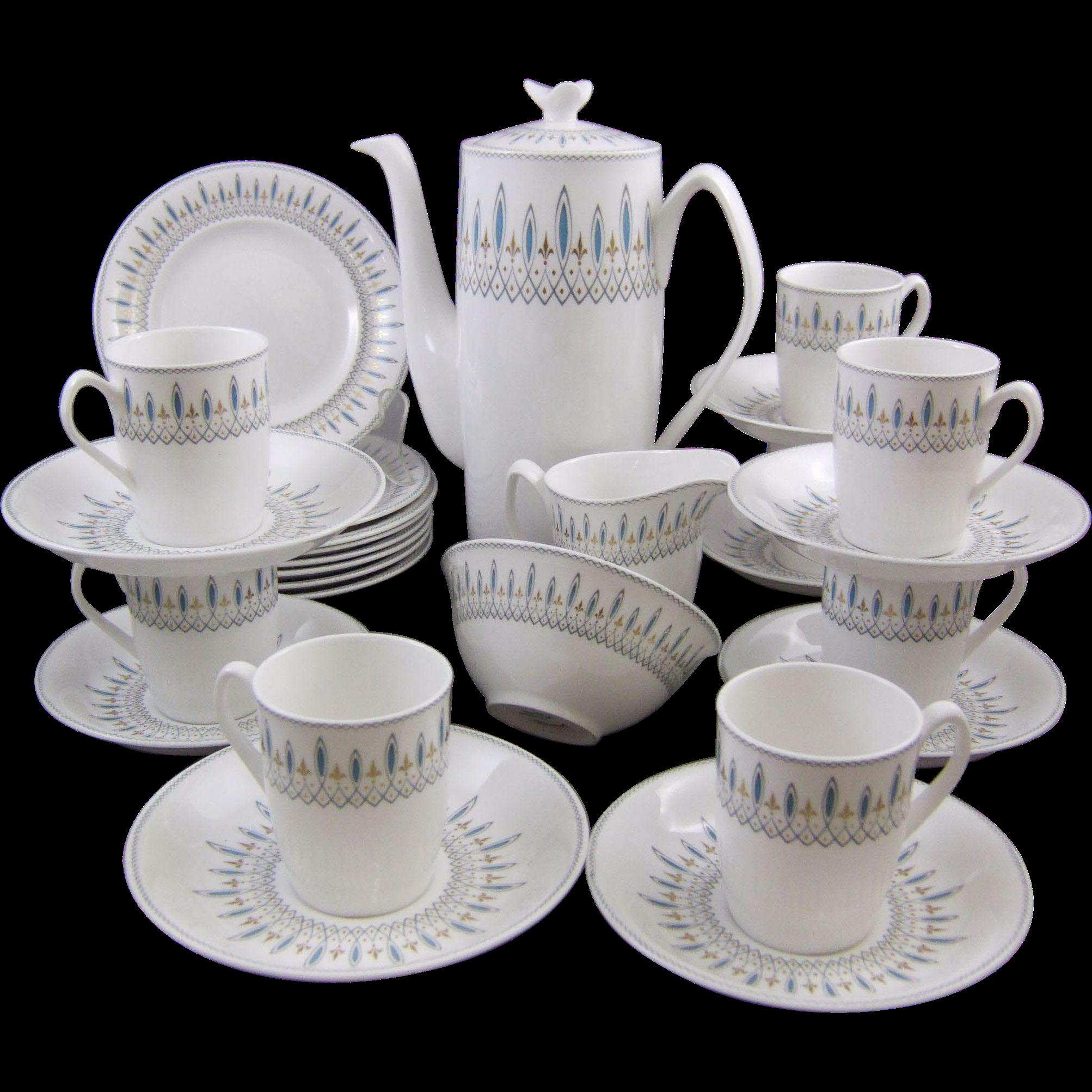 Spode Brussels Porcelain Dessert Service