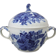 Royal Copenhagen Blue Flower Curved 161 Sugar Bowl