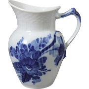 Royal Copenhagen Danish Porcelain Blue Flowers Blaue Blume Milk Jug Pitcher 1 106 394