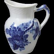 Royal Copenhagen Danish Porcelain Blue Flowers Blaue Blume Milk Jug Pitcher 1 106 394