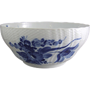 Royal Copenhagen Porcelain Denmark Blue Flower Curved 578 Salad Bowl 1 106 578