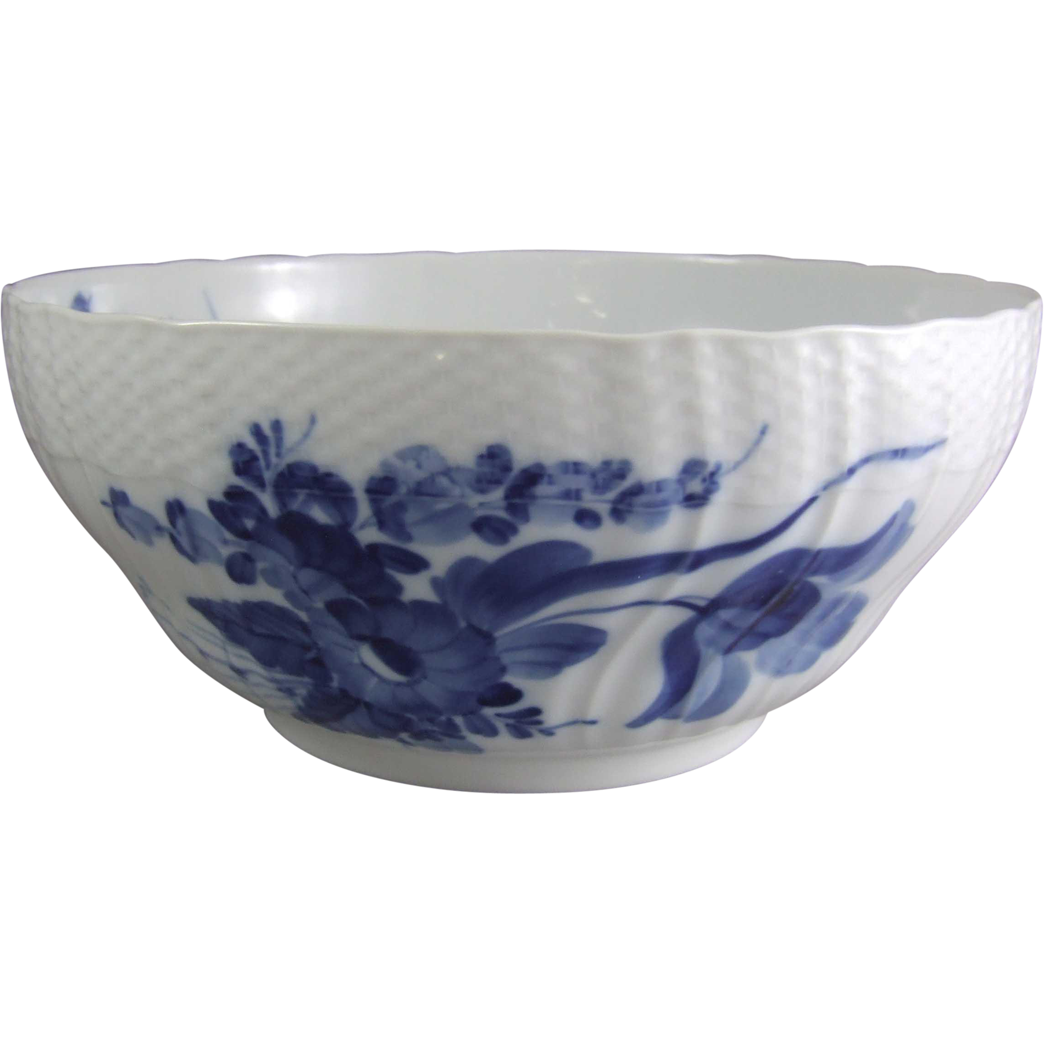 Royal Copenhagen Porcelain Denmark Blue Flower Curved 578 Salad Bowl 1 106 578