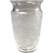 Lalique France Deauville Crystal Vase
