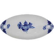 Royal Copenhagen Blue Flower Braided Blaue Blume 353 Dish